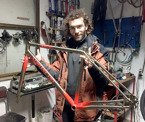 Eugenio Simoncini: artigiano telaista Breccia