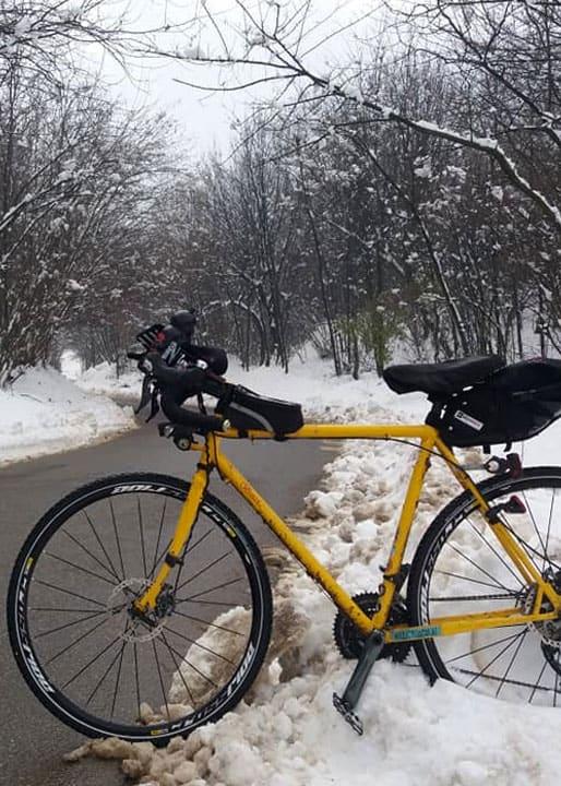 Breccia Gialla in mezzo alla neve - Fabio Galli